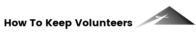 how to keep volunteers logo